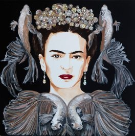 ashley longshore 2 Frida-With-Japanese-Fighting-Fish-and-Bubble-Crown-800-pix-1Y1A1167