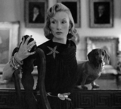 Millicent with dog